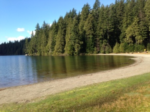 Sasamat Lake - White Pine beach